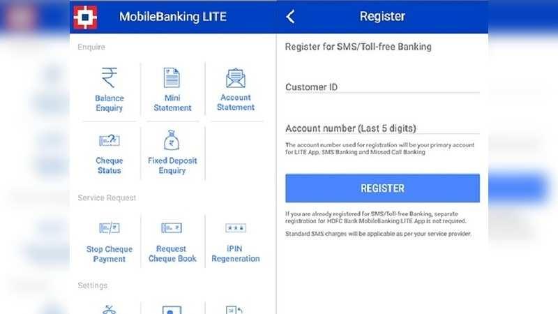 hdfcquickbank (HDFC Bank MobileBanking LITE)