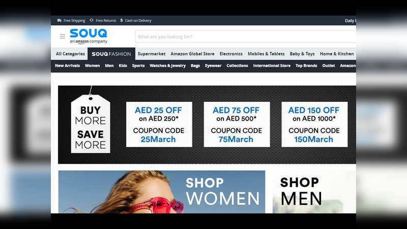 ​Souq.com: E-commerce marketplace, also called 'Amazon of the Middle East'