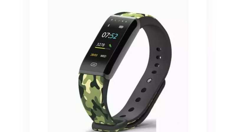 The fitness tracker should be lightweight as you are going to wear it all day
