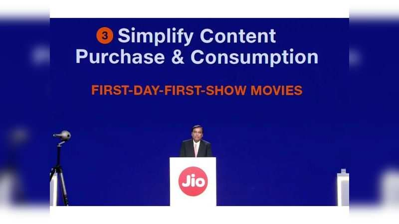 Reliance Jio GigaFiber customers will get to see movies 'first-day-first-show.'