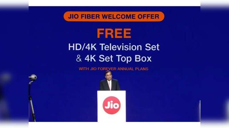 Jio GigaFiber subscribers to get 4K TV free, conditions apply