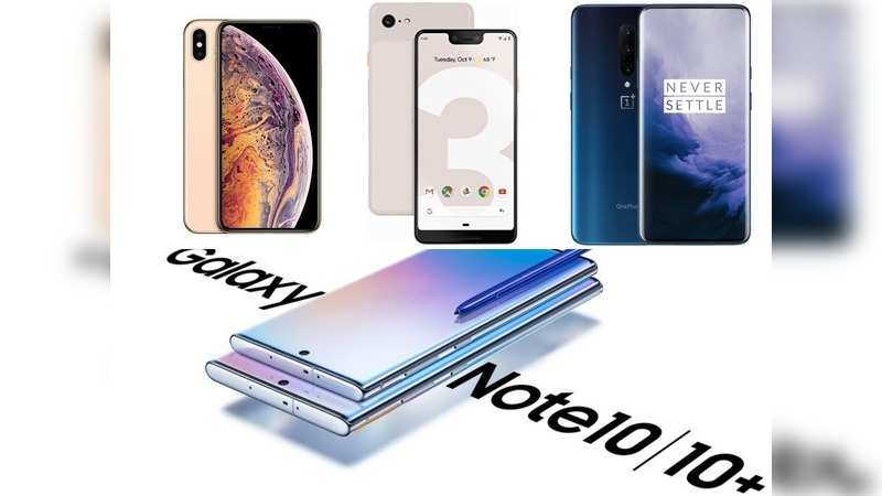 Galaxy Note 10 Plus launched at Rs 79,999: What Samsung's most-powerful phone offers vs rivals Apple iPhone XS Max, Google Pixel 3XL and OnePlus 7 Pro