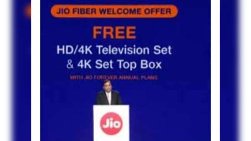 All communication regarding JioFiber will happen on the MyJio app only. Subscribers are not required to visit another app or website