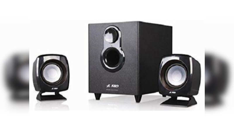 F&D F-203G 2.1 Channel multimedia speakers: Available at Rs 999 (original price Rs 1,990)