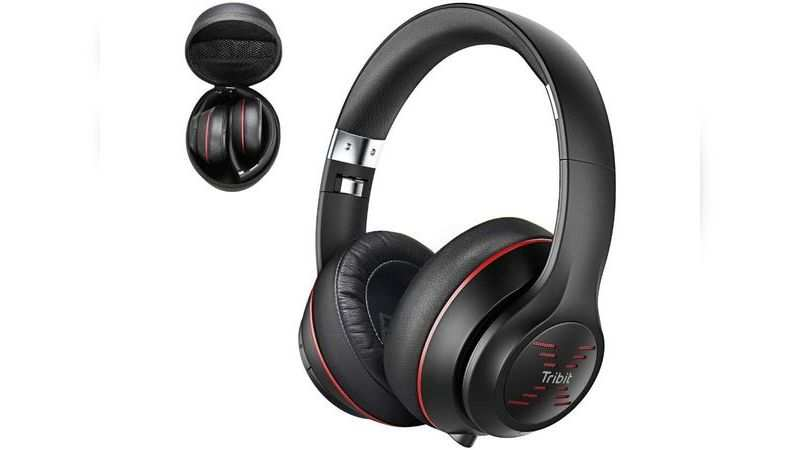Tribit XFree Tune Bluetooth over ear headphones: Available at Rs 3,299 (original price Rs 4,999)