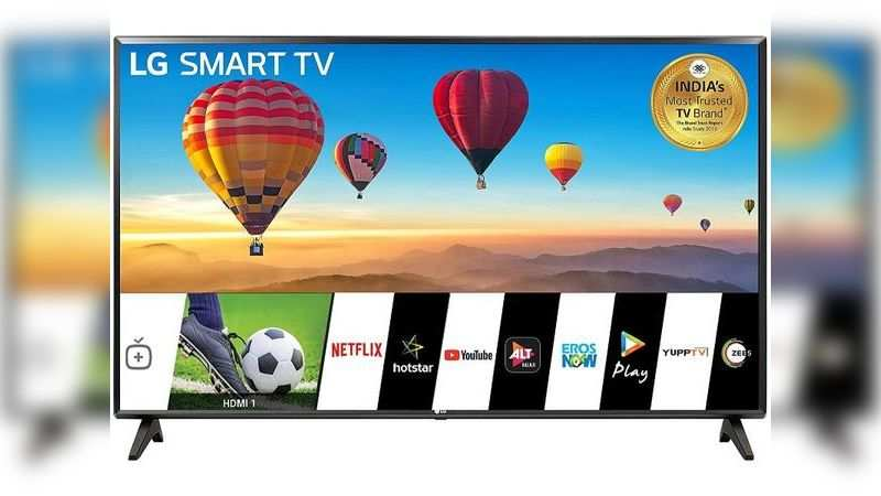 ​LG 32-inch HD-ready LED Smart TV: Rs 12,991 discount