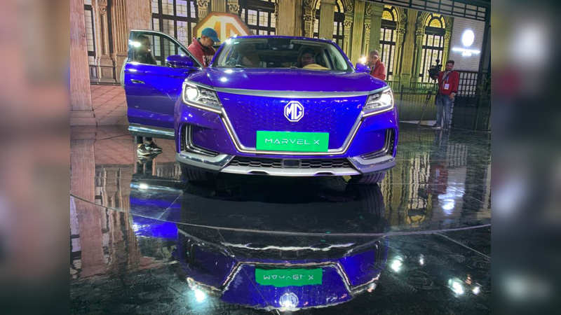 MG Marvel X Electric SUV: Expected to launch in the next few years