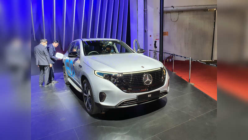 Mercedes-Benz EQC: Expected to launch in April 2020