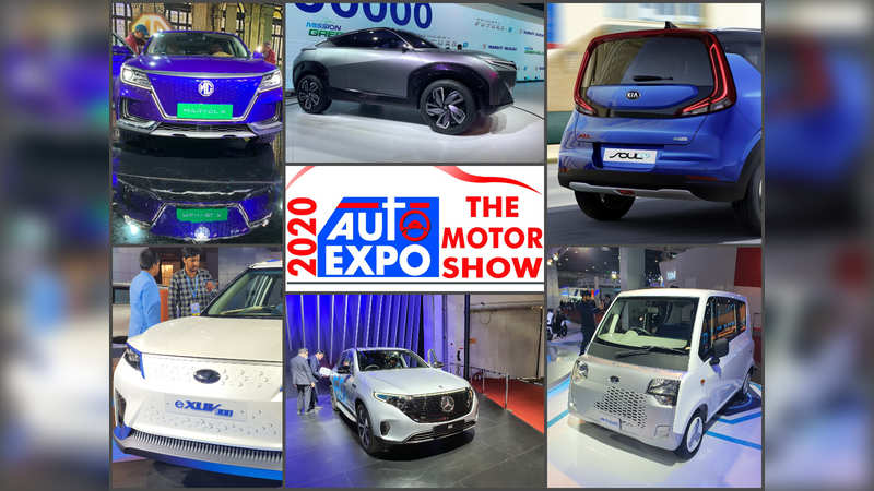 Auto Expo 2020: 11 electric cars from Maruti, Tata, Mercedes-Benz, Mahindra and other showcased