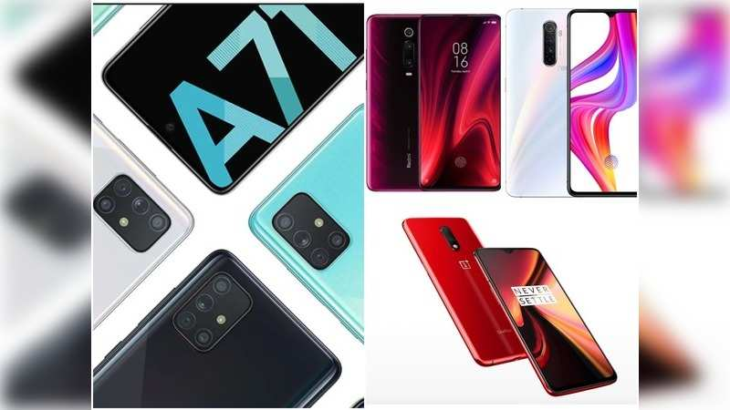Samsung Galaxy A71 vs Realme X2 Pro vs Redmi K20 Pro vs OnePlus 7: Best smartphone under Rs 30,000