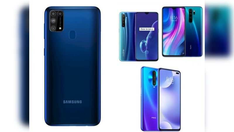 Samsung has launched Galaxy M31 at Rs 15,999: Comparing the 'big-battery' phone with rivals from Poco, Realme and Xiaomi