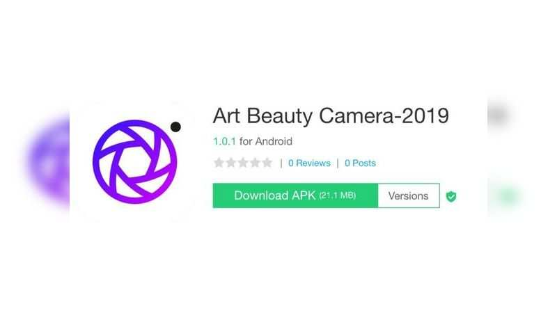Art Beauty Camera-2019 app with over 50,000 downloads