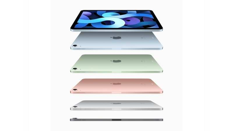 The iPad Air will be available in five colour variants — silver, space grey, rose gold, green, and sky blue — making it the most colourful iPad made by Apple.