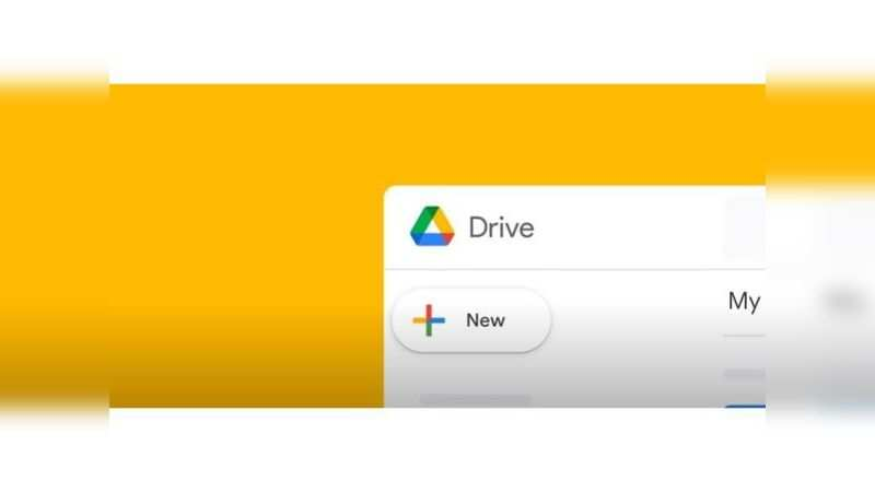 Google Drive: Gets a dash of red, has four colours now