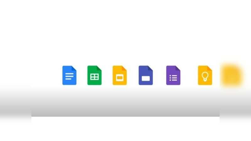 Google Docs: Gets a rectangular shape