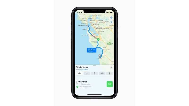 Apple Maps gets better on the iPhone