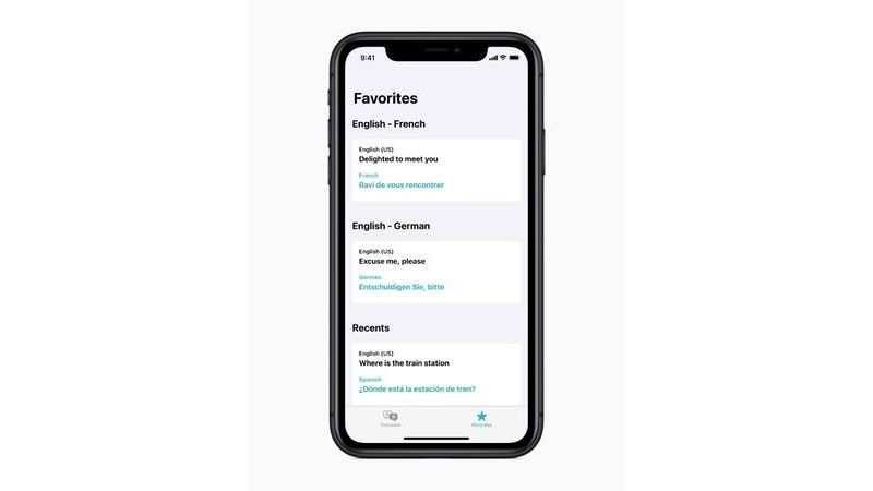 Translation gets easier and better on the iPhone