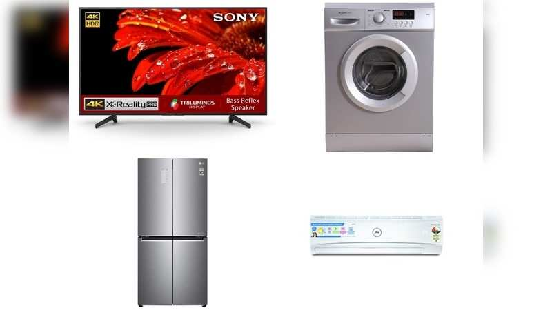 Amazon sale: Get up to 50% discount on these TVs, ACs, washing machines, refrigerators from Sony, LG and more