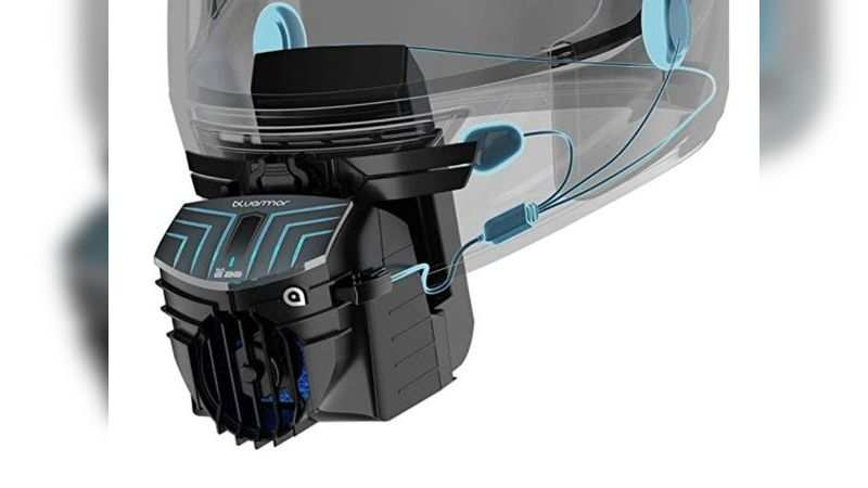 BluArmor BLU3 E20 helmet attachment for cooling and Bluetooth infotainment is selling at discounted price of Rs 4,499