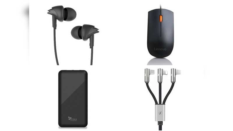 Amazon Great Indian sale: 15 power banks, earphones and other gadgets you can buy at Rs 499 or less