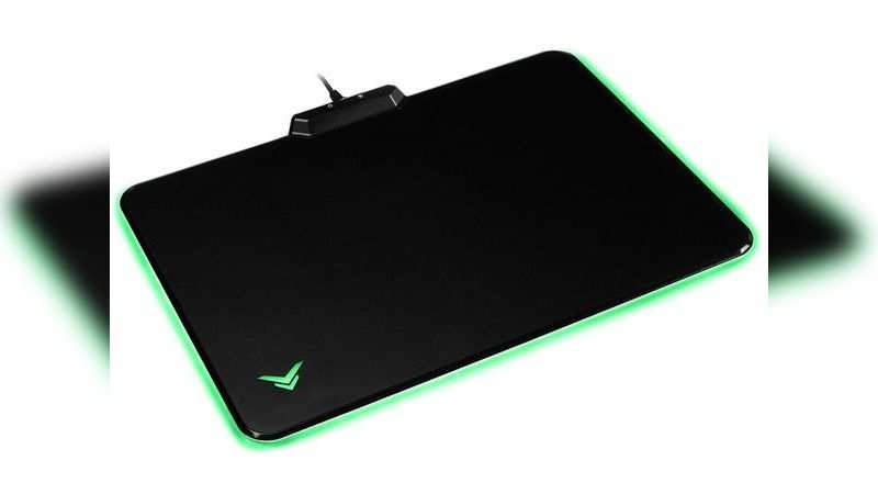 AmazonBasics hard gaming mouse Pad with LED lightning: Available at Rs 2,199 (Discount of Rs 2,401)
