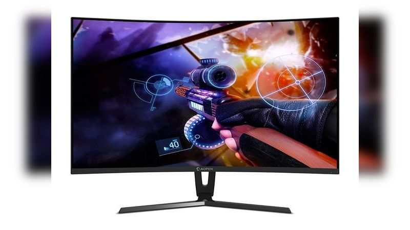 AOPEN Acer 24-inch curved gaming monitor: Available at Rs 12,299 (Discount of Rs 22,701)