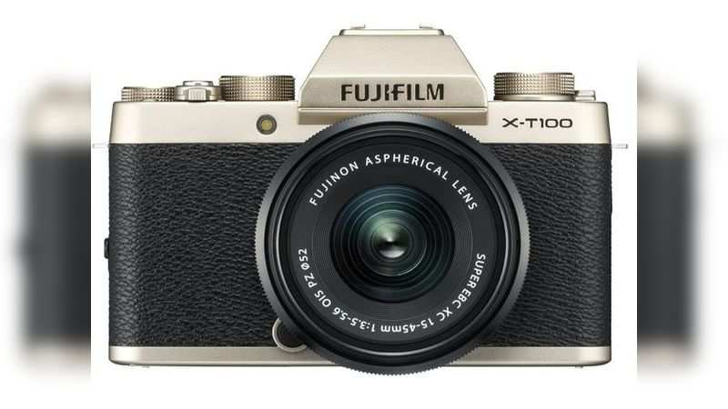 Fujifilm X-T100 24.2 MP mirrorless camera with XC 15-45 mm lens is selling at a discounted price of Rs 32,990