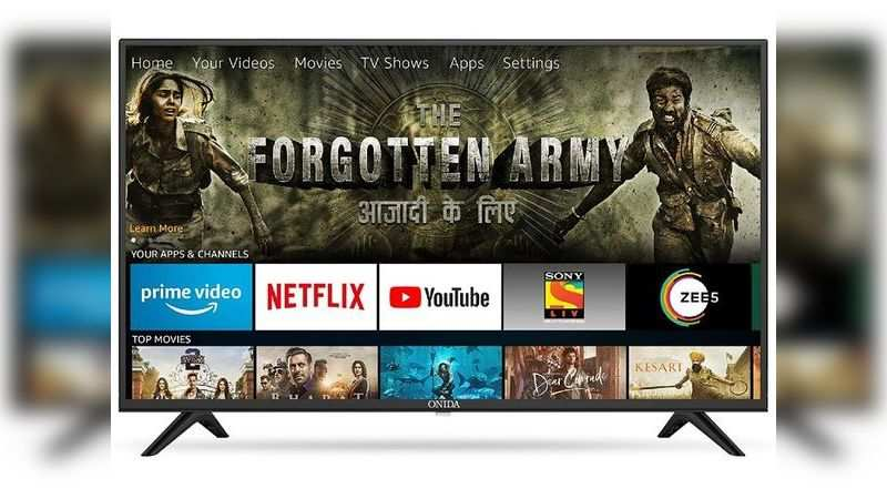 Onida 43-inch Fire TV Edition Full HD Smart IPS LED TV: Selling at Rs 21,990 (Discount of Rs 8,000)
