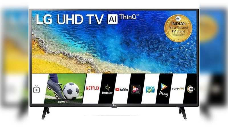 LG 43-inch 4K UHD Smart LED TV: Selling at Rs 34,990 (Discount of Rs 18,000)