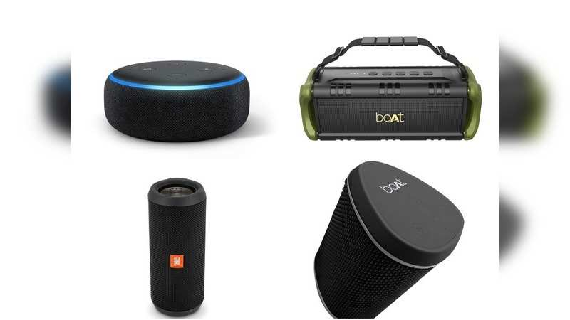 Amazon sale: Affordable Bluetooth speakers with up to 60% discount