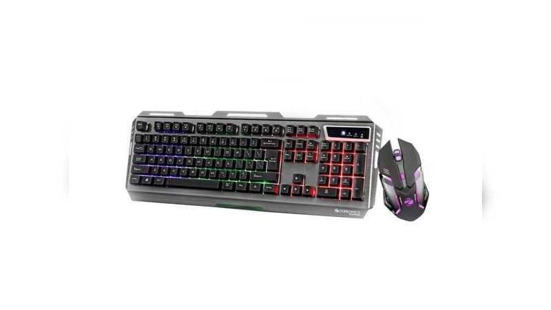 Zebronics Gaming Multimedia USB Keyboard and USB Mouse Combo: Available at Rs 1,199 (Original price: Rs 1,999)