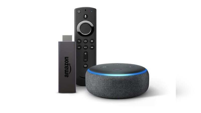 ​Amazon Echo Dot bundle with Fire TV Stick is selling at a discounted price of Rs 4,398
