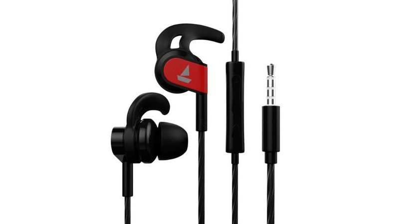 ​Boat Bassheads 242 in-ear wired earphones with Mic: Available at Rs 449 Rs 1,041 discount
