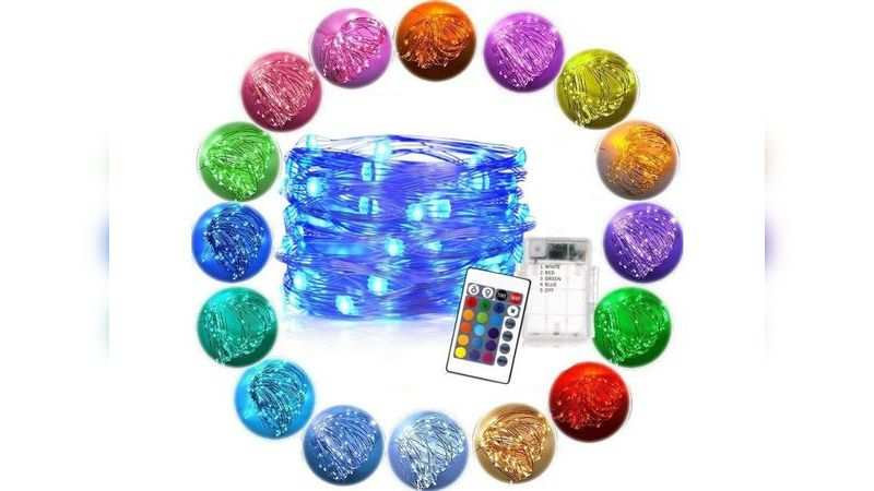 LTETTES battery powered multicolour fairy light string: Available at Rs 749 (discount of Rs 2,000)
