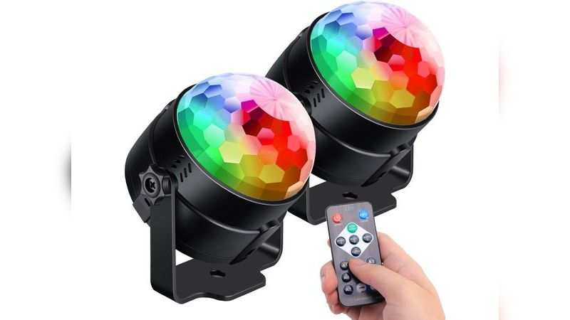 Luditek sound activated party RGB disco ball with remote: Available at Rs 5,778 (discount of Rs 1,851)