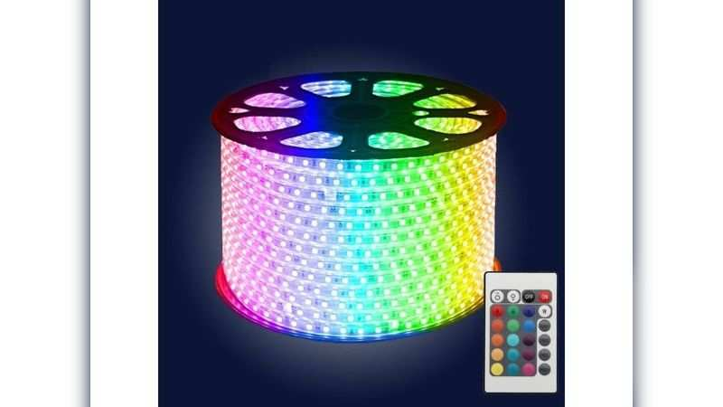 Narang RGB colour changing LED strip light with remote: Available at Rs 5,499 (discount of rs 1,500)