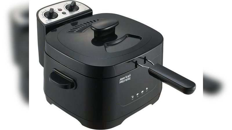 ​American Micronic AMI-DFP-30LDx-3 electric deep fryer: Available at Rs 3,885 (discount of Rs 605)