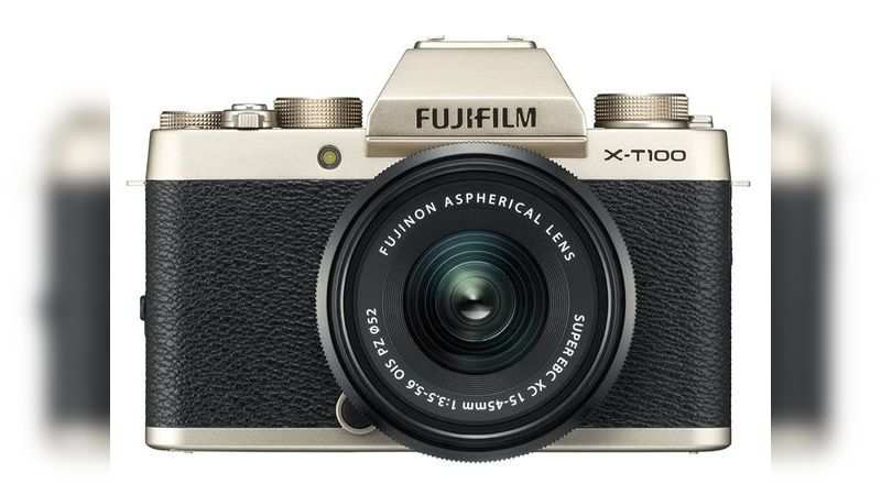 ​Fujifilm X-T100 24.2 MP mirrorless camera with XC 15-45 mm lens: Available at Rs 32,990 (discount of Rs 7,009)
