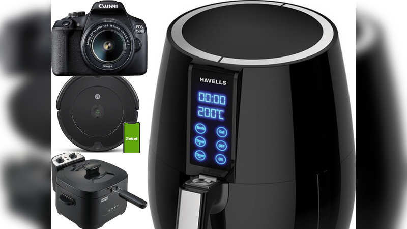 ​Amazon sale: Vacuum cleaners, cameras and air fryers available at big discounts