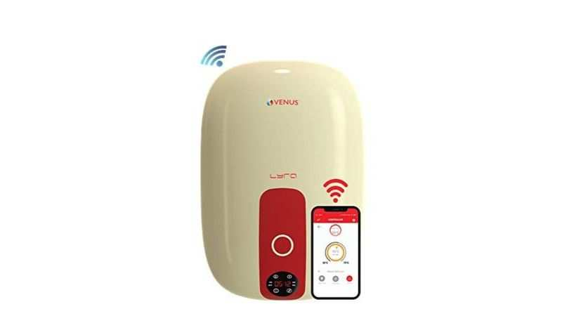 Venus Lyra Nexus Wi-Fi enabled water heater with Android App:  Selling at a discounted price of Rs 12,819 (26% discount)