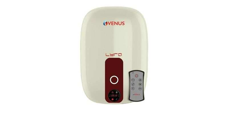 Venus Lyra Digital water heater with remote: Selling at a discounted price of Rs 9,450 (33% discount)