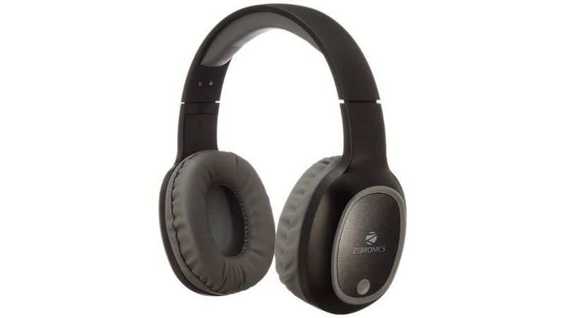 Zebronics Zeb-Thunder Wireless BT Headphone: Selling at 649 (Discount of Rs 550)