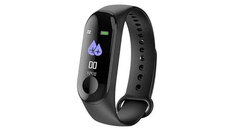 Lapras Smart Band Fitness Tracker: Selling at Rs 599 (Discount of Rs 400)