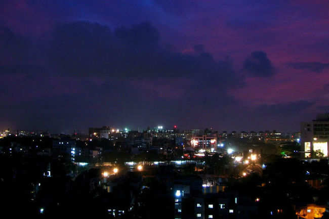 Pune by night