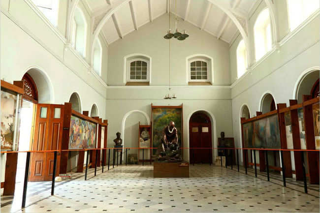 Interiors of Aga Khan Palace