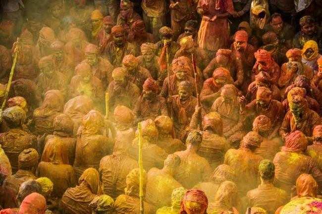 Colour, colour everywhere…