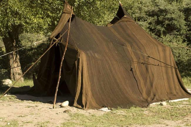 Yak wool tent
