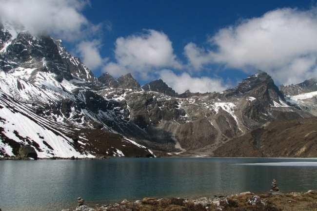 Trekking through Nepal