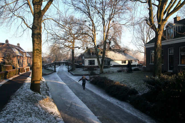 Winter In Giethoorn Giethoorn The Village Without Roads