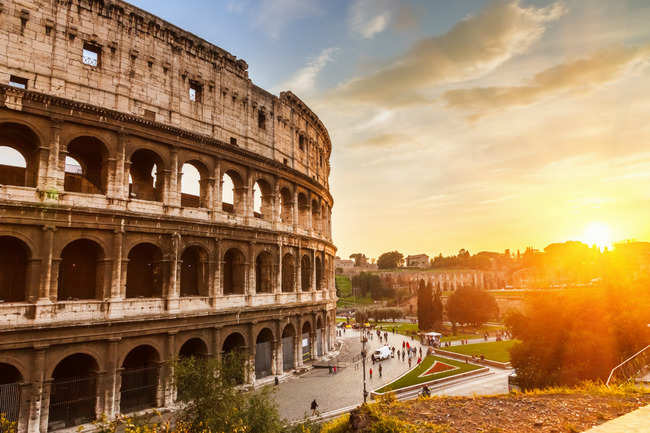 Relive the past at the Colosseum